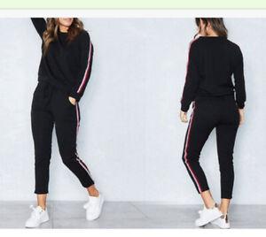 Brand New Ladies Black Lounge Suit XL (14/16)