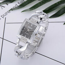 Luxury Women Crystal Stainless Steel Watch Ladies Quartz Bracelet Wrist Watches Rose Gold