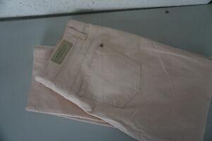 Angels Femmes Jeans Droit Pantalon Stretch à Motif 32/30 W32 L30 Rose Top #E10
