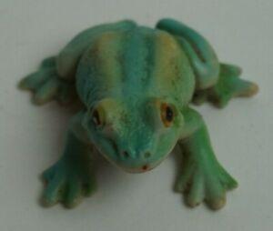 "Schleich 2000 1"" Green Tree Frog, Retired, Toy Model, Plastic"