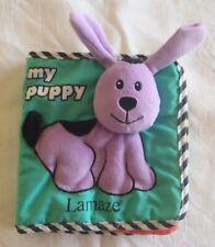 Lamaze Plush Developmental soft book My Puppy Toy Learning Curve clean