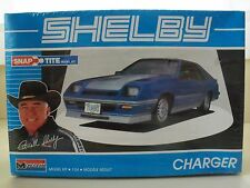 MONOGRAM SHELBY DODGE CHARGER TURBO - SNAP TITE MODEL KIT (SEALED)