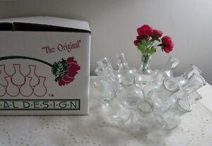 The Original Eighteen Floral Design Circle Vase Clear Horticultural Institute