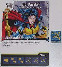BIG BARDA: MIRACULOUS ESCAPE 88/124 Batman Dice Masters DC Rare