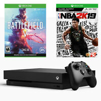 2019 Xbox One X Battlefield V Deluxe + NBA 2K19 + EA Access, 1TB Console Bundle