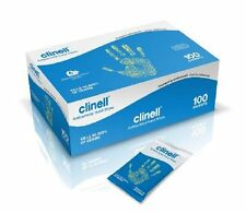 NRS Healthcare Healthcare Clinell Antibacterial Hand Wipes - 100 Sachets