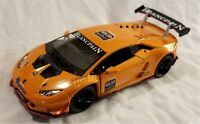 Kinsmart - 1:36 Scale Model Lamborghini Huracan LP620-2 Orange (BBKT5389DO)