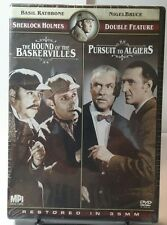 The Hound of the Baskervilles/Pursuit to Algiers (DVD, 2009)NEW-Free Shipping