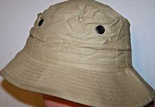 British Tan Cotton Boonie Safari Brim Hat X small 6 1/8 19 1/8 50cm each H1624