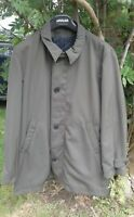 Cerruti 1881 green car coat