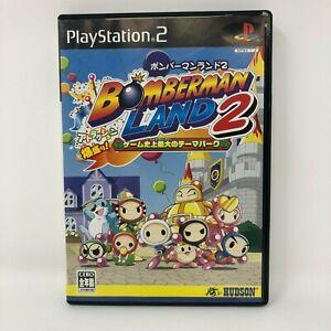 Bomberman Land 2 PlayStation2 PS2 Japan Import