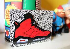 Retro Air Jordan 6 VI Infrared 23 sneaker art fridge locker Magnet