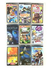 Lot 9 Jeu PSP Garçon Aventure Jak And Daxter Littlebig Planet Avatar Les Sims 2