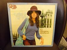 Carly Simon No Secrets LP Quadra Disc 1972 Elektra EX