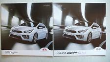 Prospectus KIA CEE 'D GT, 8.2015, 24 pages + prix/Données
