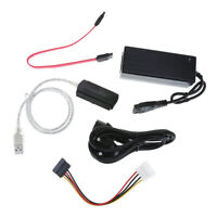 SATA/PATA/IDE Drive to USB 2.0 Converter Cable for HDD with External Power P4PM