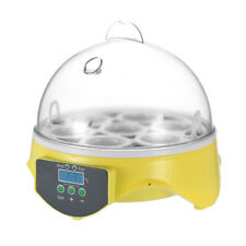 7 Eggs Mini Digital Egg Incubator Hatcher Transparent Eggs Hatching Machine C0L7