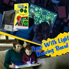 Fluorescent Light Writing Pad Educational Toy Kids Drawing Painting Board US Pop
