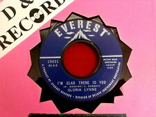 GLORIA LYNNE~ I'M GLAD THERE IS YOU~ NEAR MINT~ AND THIS IS MY BELOVED~~ POP 45