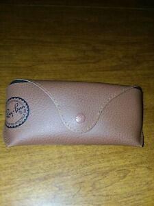 Ray Ban Leather Case Only Brown