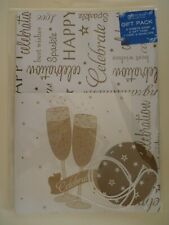 Celebrations Congratulations Wrapping Paper Gift Pack 2 Sheets 2 Tags & Card