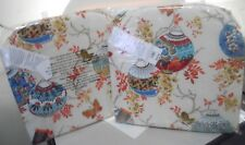 Pier 1 Imports Inside/Outside Seat Dining Pillows 2 Pack Orig Price $70.00 New