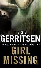 TESS GERRITSEN _____ GIRL MISSING _____ BRAND NEW ___ FREEPOST UK