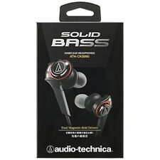 audio-technica Dynamic Sealed Canal Earphone SOLID BASS ATH-CKS990