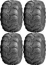 Four 4 ITP Mud Lite AT ATV Tires Set 2 Front 25x8-12 & 2 Rear 25x10-12 MudLite