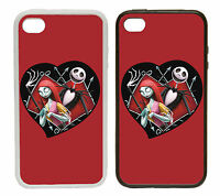 Nightmare Before Christmas , Rubber and Plastic Phone Cover Case Goth Emo