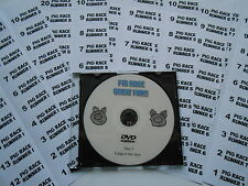 Pig Race DVD and 20 Perforated Ticket Set - 8 Knitted Jockeys- 1 Race Only