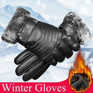 Beauteye Womens Winter Warm Touch Screen Gloves Fleece Lined Windproof Soft Suede Mittens Driving Running Skiing Cycling Camping Touch Screen Winter Gloves