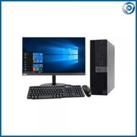 """Dell 3040 6TH GEN SFF PC TOWER i5-6500@3.20GHz 4GB-240GB SSD WIN10 23"""" HDMI LCD"""