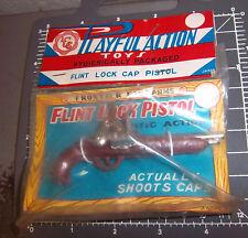 Vintage Cap Shooting Flint Lock Pistol in original Package! New Old Stock 1950s