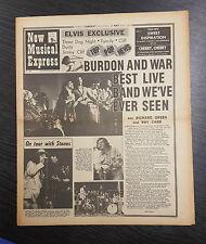 NME Magazine Feat Eric Burdon and War: September 19th 1970.