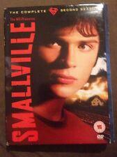 Smallville - Series 2 - Complete (DVD, 2004, 6-Disc Set, Box Set)