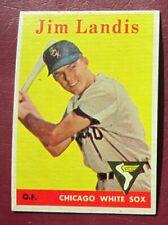 1958 Topps Jim Landis (Chicago White Sox) #108 EX