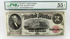 1917 $2 Legal Tender PMG 55 EPQ  - Fr#60 - Exceptional Paper Quality