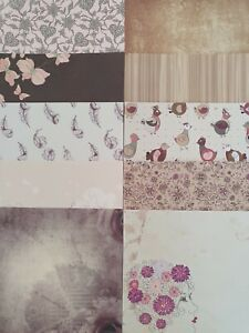 10 x Passion For Vintage 6 x 6 Papers For Cardmaking & Scrapbooking