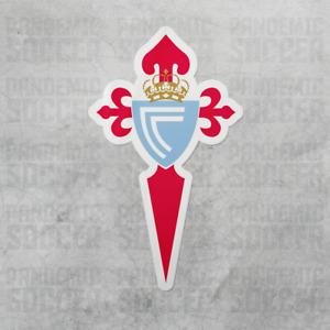 (4 Pack) Celta de Vigo Spain Vinyl Sticker Decal Pegatina La Liga Futbol Soccer