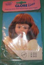 """doll wig blond 7,5"""" to 8"""" Glorex / Switzerland"""