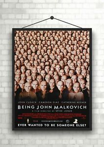 Being John Malkovich Classic Large Movie Poster Print Maxi A1 A2 A3 A4