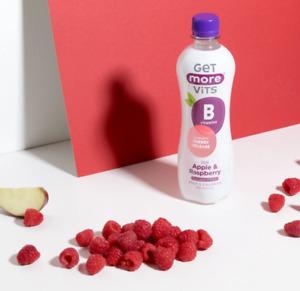 B Vitamins Drink Apple & Raspberry 12x1Litre by Get More Vits