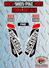 Rock SHOX PIKE 2015 FORK Adesivi Decalcomanie Grafiche mountain bike Down Hill MTB