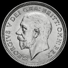 More details for 1926 george v silver sixpence, third coinage, scarce, unc