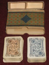 "VINTAGE RETRO RARE USSR RUSSIAN 2 DECKS PLAYING CARDS ""MEDIEVAL HUNTING SCENES"""