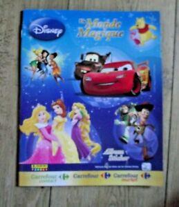 Panini Carrefour Disney Monde Magique lot 150 pochettes soit 600 images NEUVES !