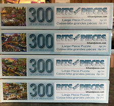 Four Scenic Bits And Pieces 300 Piece Puzzles