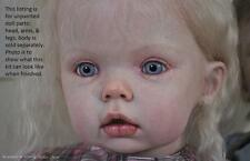 """Reborn Baby Tibby Standing Toddler 31"""" Vinyl Doll Parts Kit by Donna RuBert 5626"""