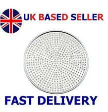 More details for heavyduty mega pizza screen aluminium oventray perforated pan thincrust 6